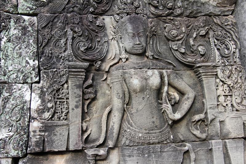 Bayon Temple Unesco Dünya Kültür Mirasları Kanvas Tablo