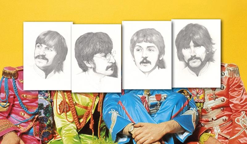 Beatles Popüler Kültür Kanvas Tablo