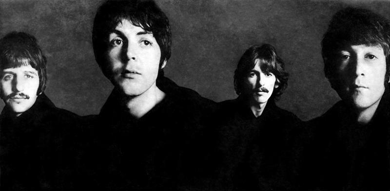 Beatles Ünlü Yüzler Kanvas Tablo 4