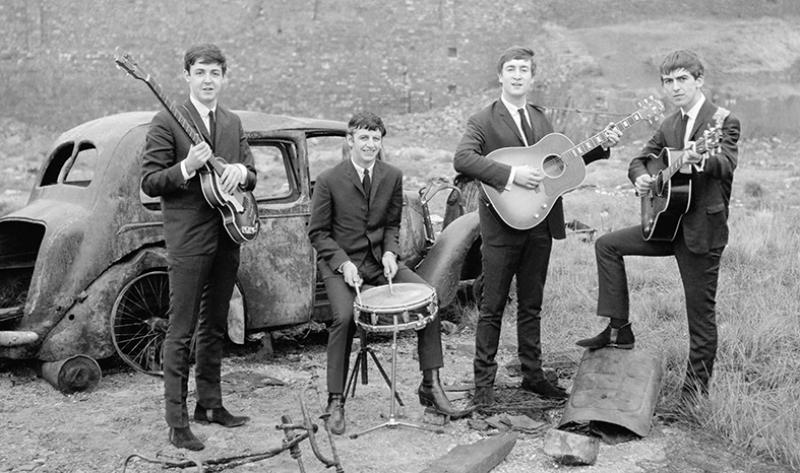 Beatles Ünlü Yüzler Kanvas Tablo