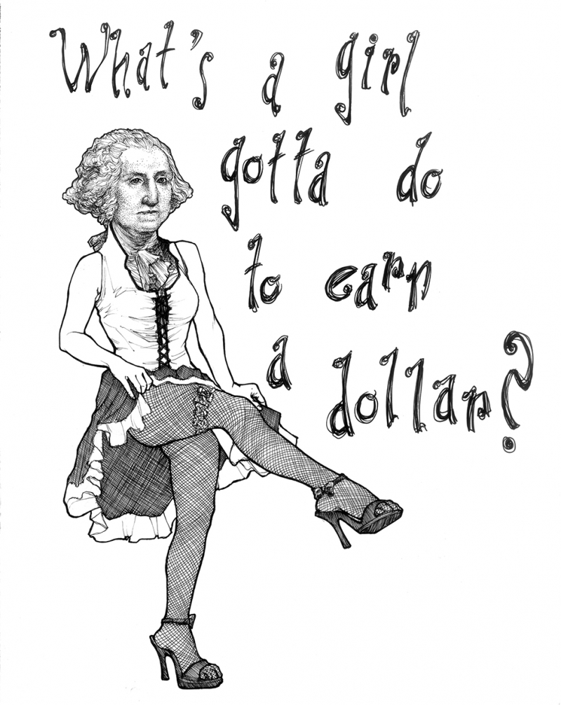 Benjamin Franklin Popüler Kültür Kanvas Tablo