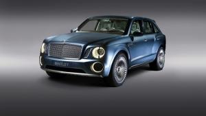 Bentley Bentayga Suv Spor Otomobil Araçlar Kanvas Tablo