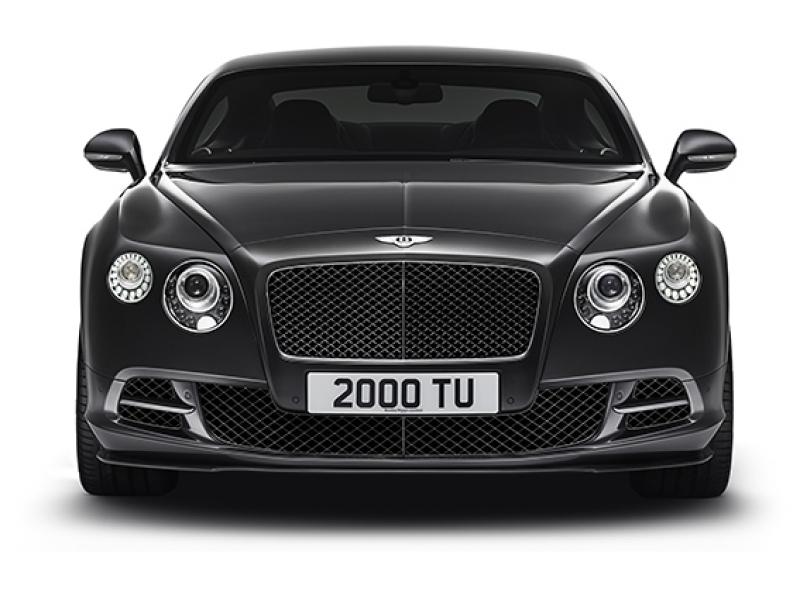 Bentley Continental Gt Spor Otomobil Siyah Kanvas Tablo