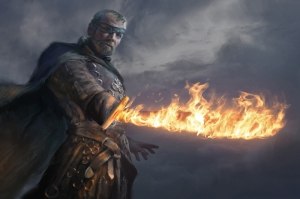 Beric Dondarrion Si Got Kanvas Tablo
