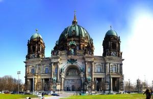 Berlin Winter 2 Dünyaca Ünlü Şehirler Kanvas Tablo