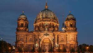 Berlin Winter Dünyaca Ünlü Şehirler Kanvas Tablo