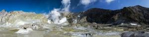 Beyaz Ada Panaromik Kanvas Tablo