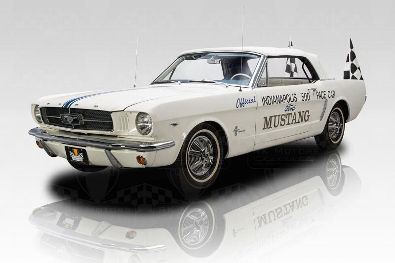 Beyaz Ford Mustang 1967 Model 1 Klasik Otomobil Araçlar Kanvas Tablo