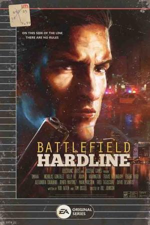 BFH Battlefield Hardline Film Afişi Sinema Kanvas Tablo