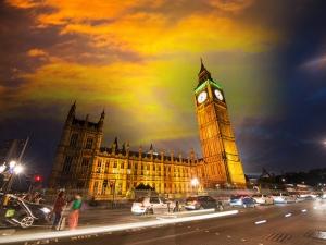 Big Ben Londra Dünyaca Ünlü Şehirler Kanvas Tablo