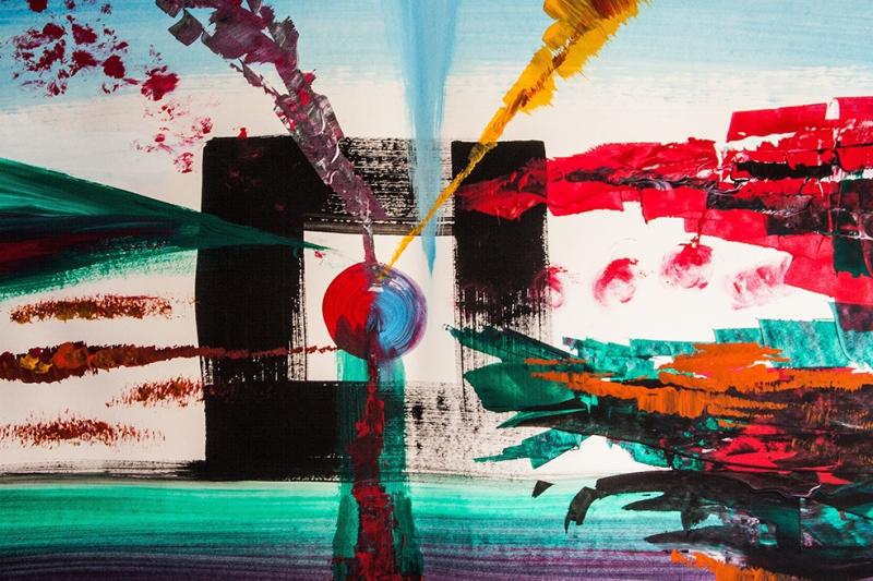 Bilinç Altının Tuvale Yansıması Sanat Kanvas Tablo