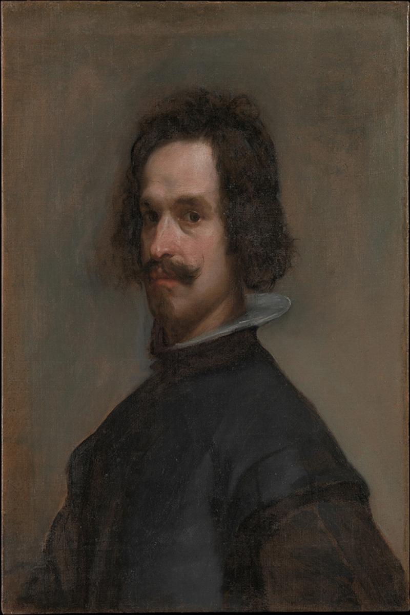 Bir Adamın Portresi Diego De Velazquez Klasik Sanat Kanvas Tablo