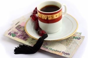 Bir Fincan Arap Kahvesi Ve Hurma 1 Lezzetler Kanvas Tablo