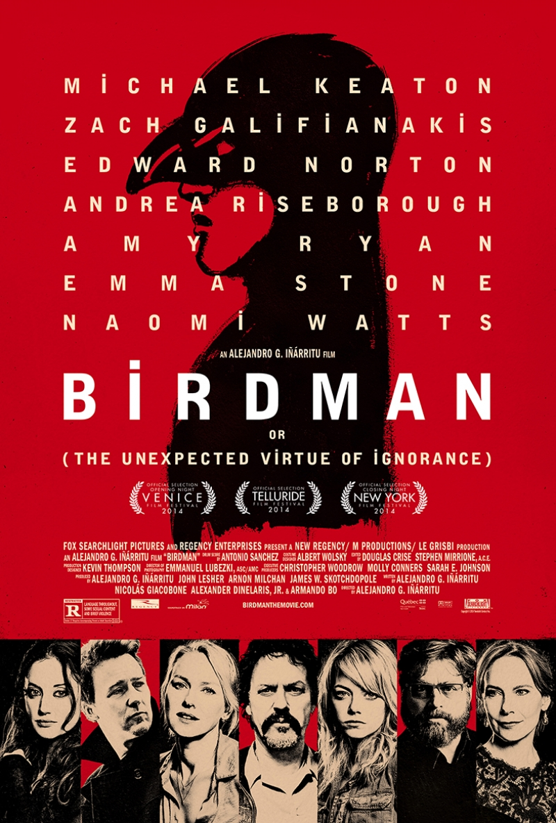 Birdman Afiş Kanvas Tablo