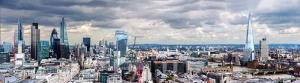 Birleşik Krallık Panaromik Dünyaca Ünlü Şehirler Kanvas Tablo