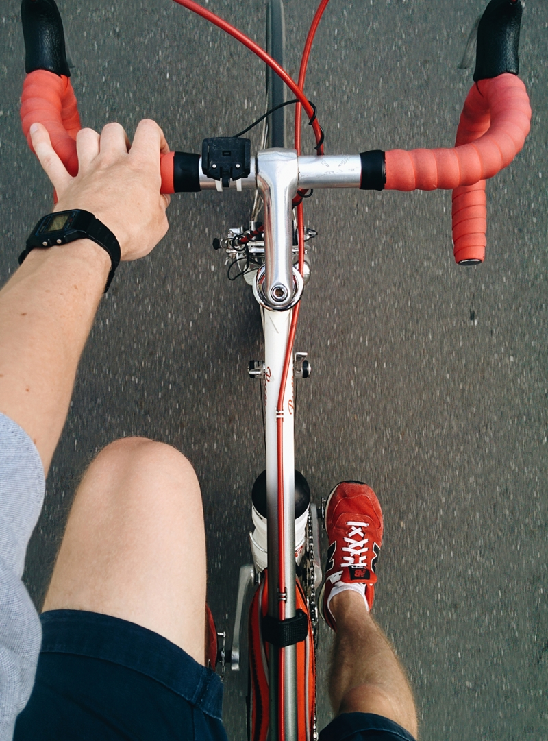 Bisiklet Spor Kanvas Tablo