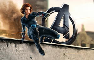 Black Widow Sinema Kanvas Tablo