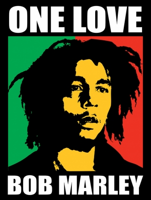 Bob Marley One Love Ünlü Yüzler Kanvas Tablo