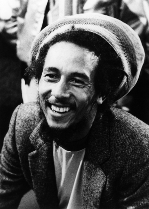 Bob Marley Ünlü Yüzler Kanvas Tablo