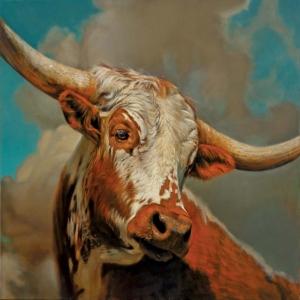 Boğalar-2 Klasik Sanat Kanvas Tablo