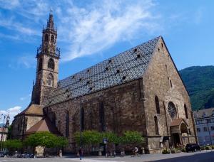 Bolzano 2 Katedral Dünyaca Ünlü Şehirler Kanvas Tablo