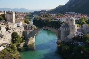 Bosna 6 Dünyaca Ünlü Şehirler Kanvas Tablo