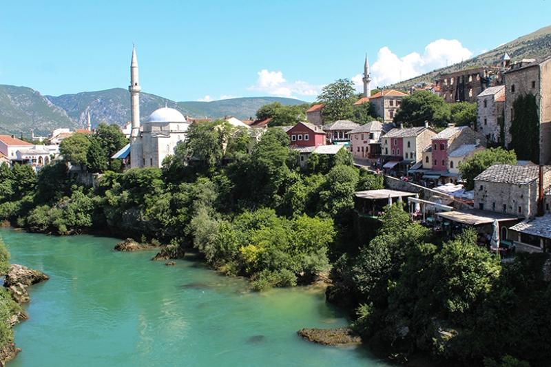 Bosna Hersek Doğa Manzaraları Kanvas Tablo