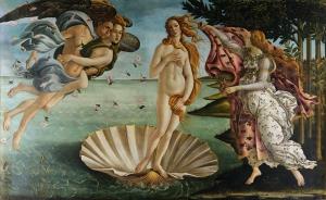 Botticelli Venüs Yağlı Boya Sanat Kanvas Tablo