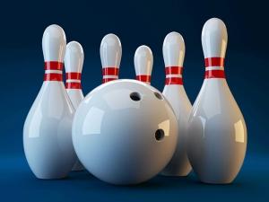 Bowling Labut Spor Kanvas Tablo