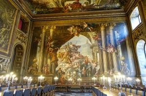 Boya Hall Grenwich Unesco Dünya Kültür Mirasları Kanvas Tablo