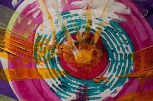 Boya Terapisi Sanat Kanvas Tablo