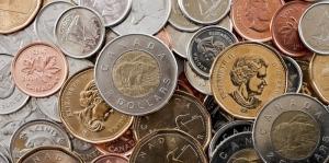 Bozuk Para Kanada Doları Fotoğraf Kanvas Tablo
