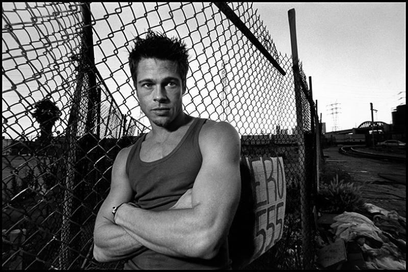 Brad Pitt Kanvas Tablo
