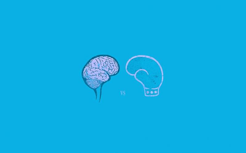 Brain vs Power Popüler Kültür Kanvas Tablo
