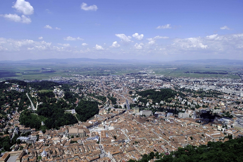 Brasov Dünyaca Ünlü Şehirler Kanvas Tablo
