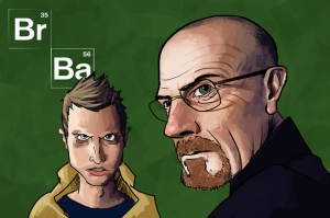 Breaking Bad 3 Kanvas Tablo