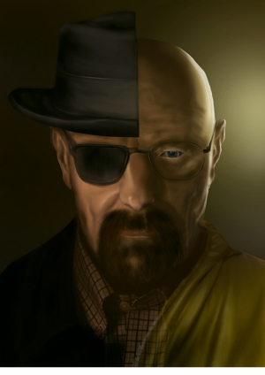 Breaking Bad Kanvas Tablo