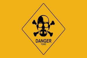 Breaking Bad Logo Kanvas Tablo