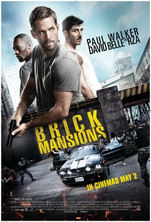 Brick Mansion Paul Walker Afiş Kanvas Tablo