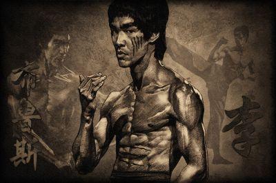 Bruce Lee 09 Ünlü Yüzler