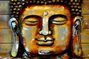Buda, Budizm Sanat Kanvas Tablo