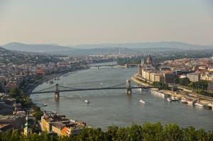 Budapeşte Dünyaca Ünlü Şehirler Kanvas Tablo
