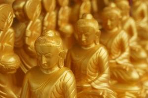 Buddha Dini & İnanç Kanvas Tablo
