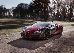 Bugatti Veyron Spor Otomobil Araçlar Kanvas Tablo