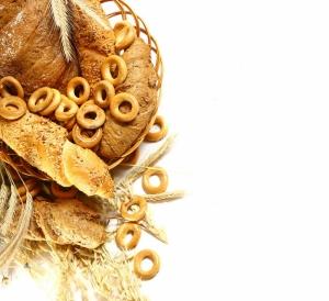 Buğday Tahıl Unlu Mamülleri Ekmek Sepeti 3 Lezzetler Kanvas Tablo