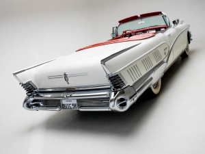 Buick 1958 Model Klasik Otomobiller 1 Amerikan Arabalar Poster Araclar Kanvas Tablo