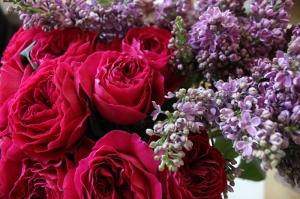Buket Floral Sanat Kanvas Tablo
