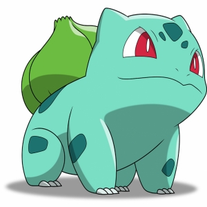 Bulbasaur 1 Pokemon Karakterleri Kanvas Tablo