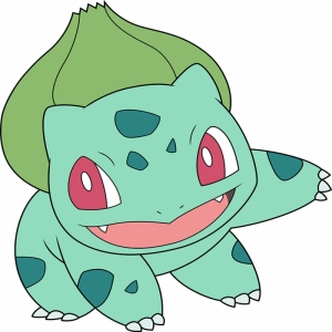 Bulbasaur 2 Pokemon Karakterleri Kanvas Tablo