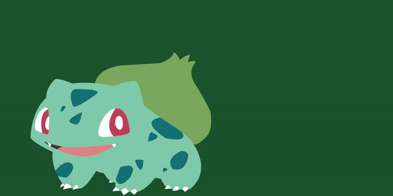 Bulbasaur 4 Pokemon Karakterleri Kanvas Tablo